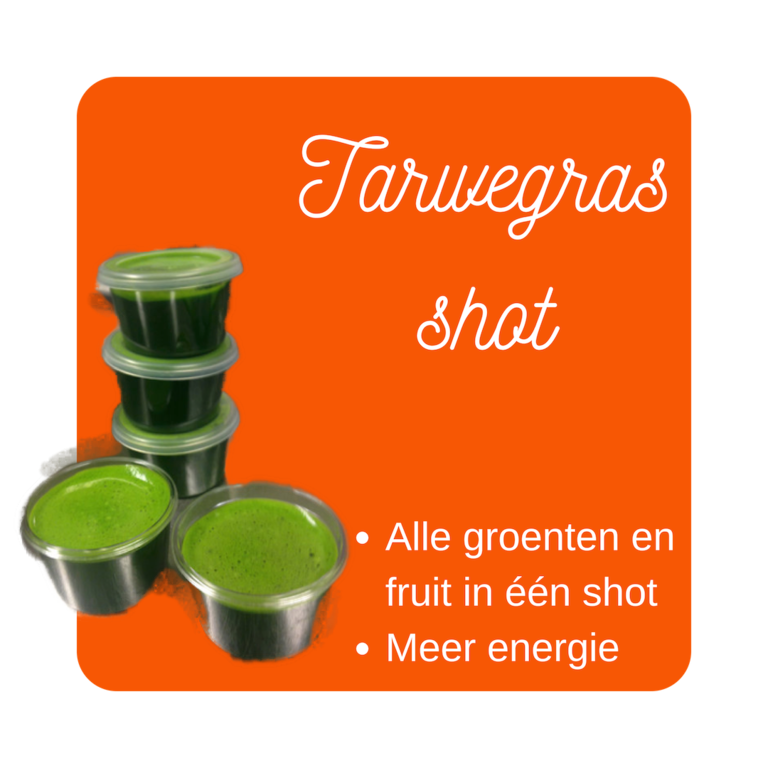 Smooth verse tarwegrassap in cupje van 30ml 20x